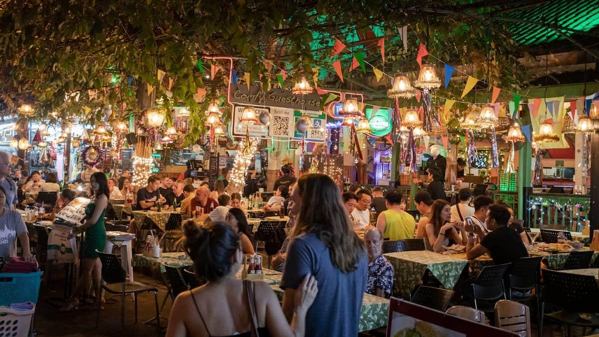 Open Air Restaurant Thailand