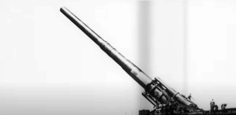 Schwerer Gustav Gun Firing