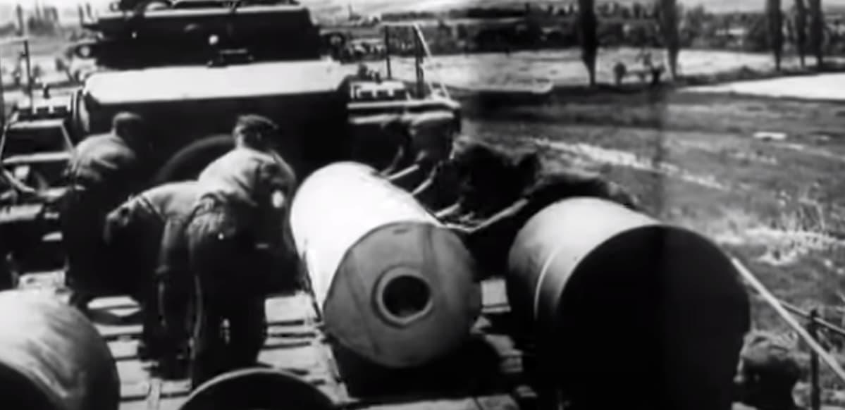 Schwerer Gustav Gun Shells