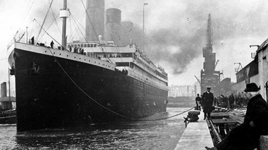 Titanic April 1912