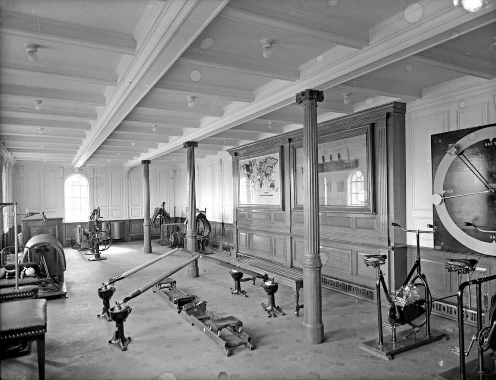 Titanic First Class Gym