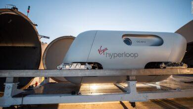 Virgin Hyperloop High-Speed Pods